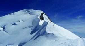 Bergsteigen am Mt. Blanc